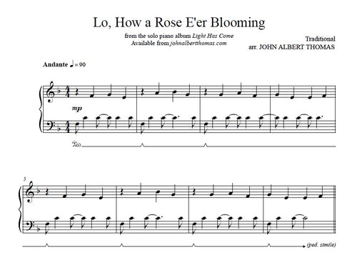 John Albert Thomas - Lo, How a Rose E'er Blooming.jpeg
