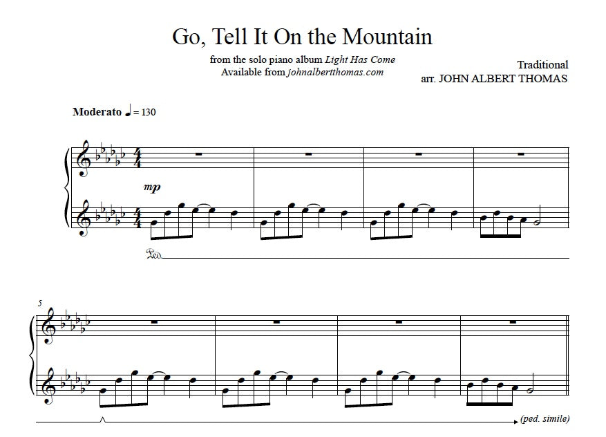 John Albert Thomas - Go Tell It On the Mountain.jpeg