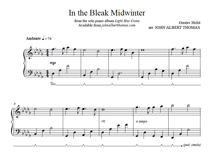 John Albert Thomas - In the Bleak Midwinter.jpeg