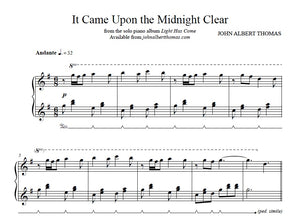 John Albert Thomas - It Came Upon the Midnight Clear.jpeg