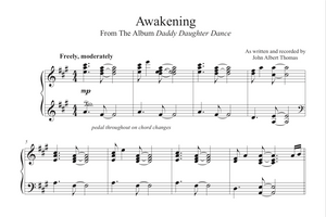 Awakening Sheet Music by John Albert Thomas