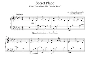 Secret Place - Sheet Music