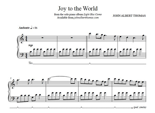John Albert Thomas - Joy to the World.jpeg