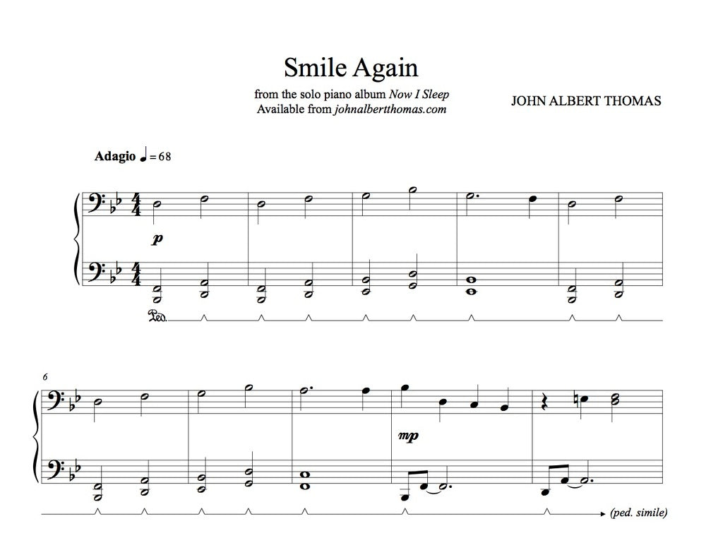 John Albert Thomas - Smile Again.jpg
