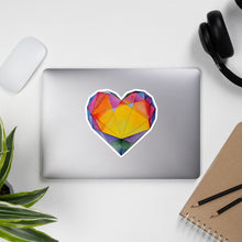 "Load image into Gallery viewer, ""Light of Dawn"" Heart Stickers"