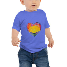 "Load image into Gallery viewer, ""Light of Dawn"" Heart Baby Jersey Short Sleeve Tee"