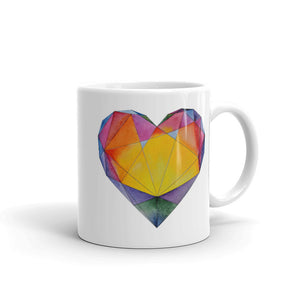 """Light of Dawn"" Heart Mug"