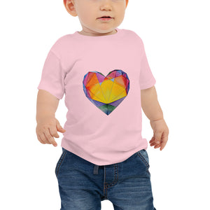 """Light of Dawn"" Heart Baby Jersey Short Sleeve Tee"