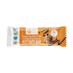 Key Eats Chocolate Chip Cookie Dough Bars - 12 Bars