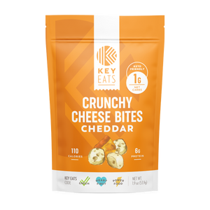 Key Eats Crunchy Cheese Bites - Cheddar - 3 Pack