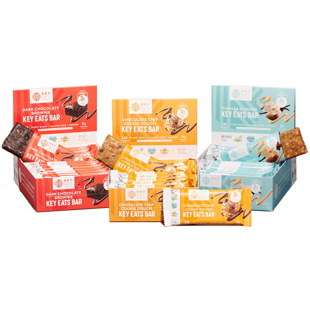 Key Eats Bars Bundle - 36 Bars
