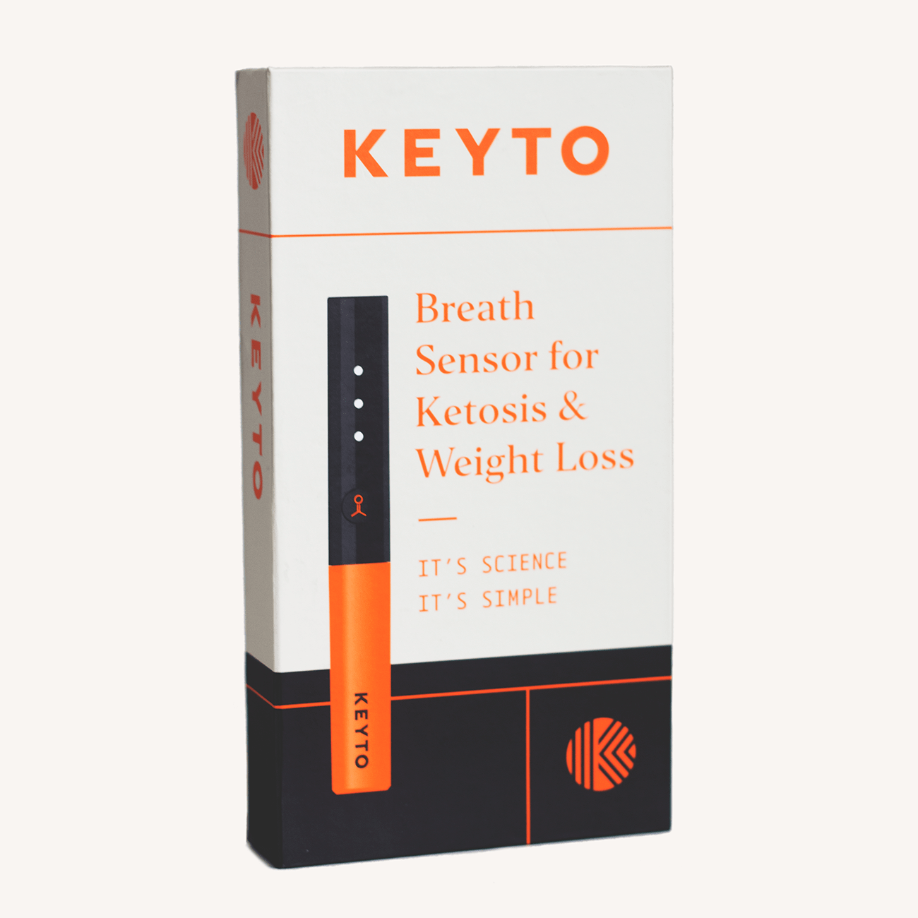Keyto Breath Sensor - $10 / Month Membership (billed annually)
