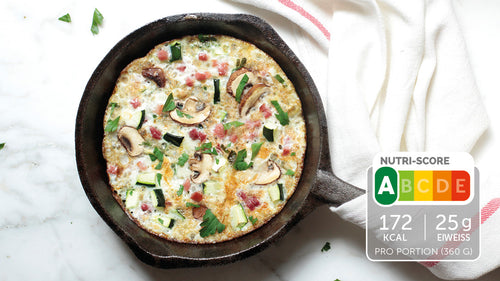 Low Carb Champignons-Omelette