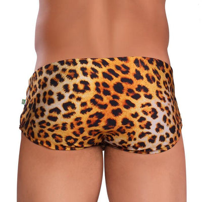 Sunga LEOPARDO Estampa Animal  - Moda Praia Masculina