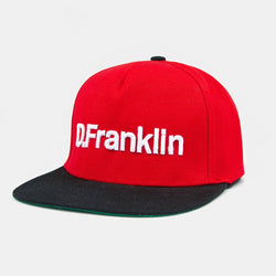 D.Franklin Snapback Real Red