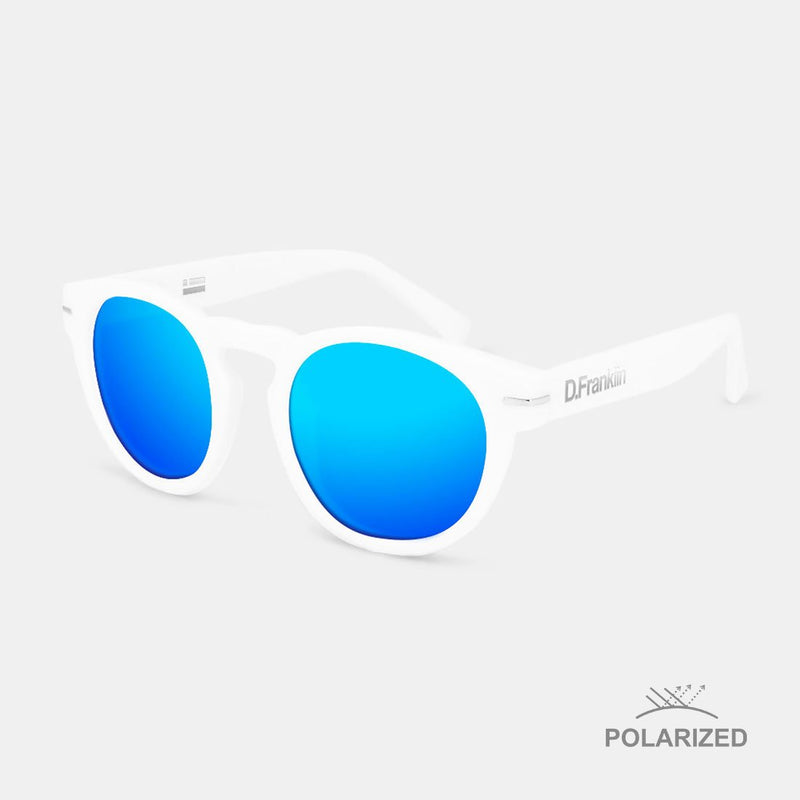 Rem White / Blue Polarized