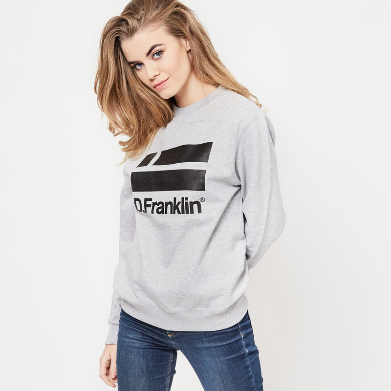 Sweatshirt Logo Grey