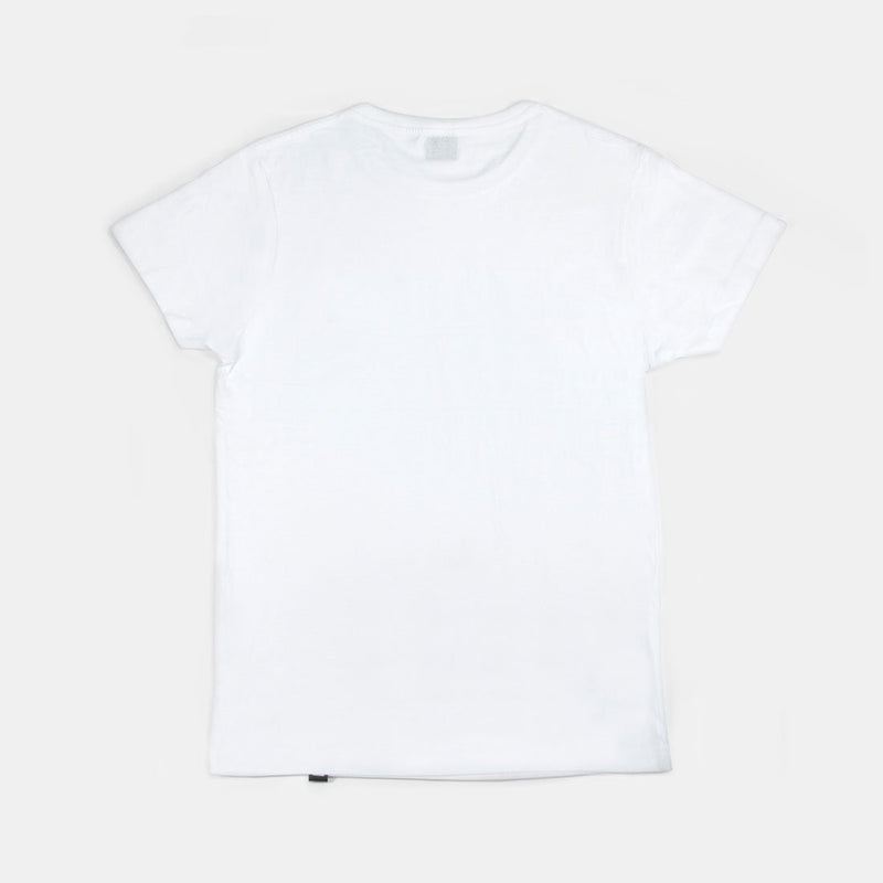 Logo Laser Lemon Tee White
