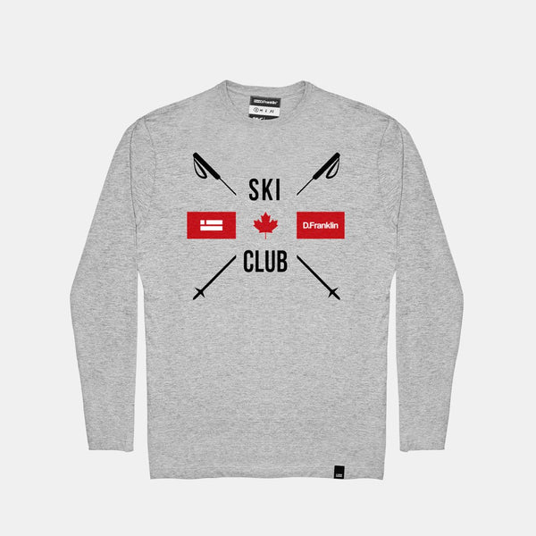 Club Long Sleeve T-Shirt Grey