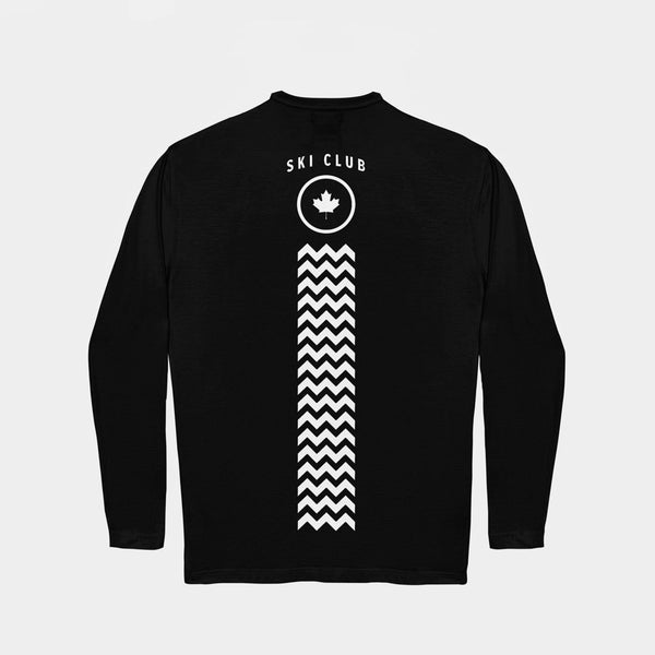 Winter Long Sleeve T-Shirt Black