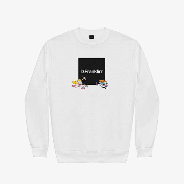Sweatshirt Dexter Lab White