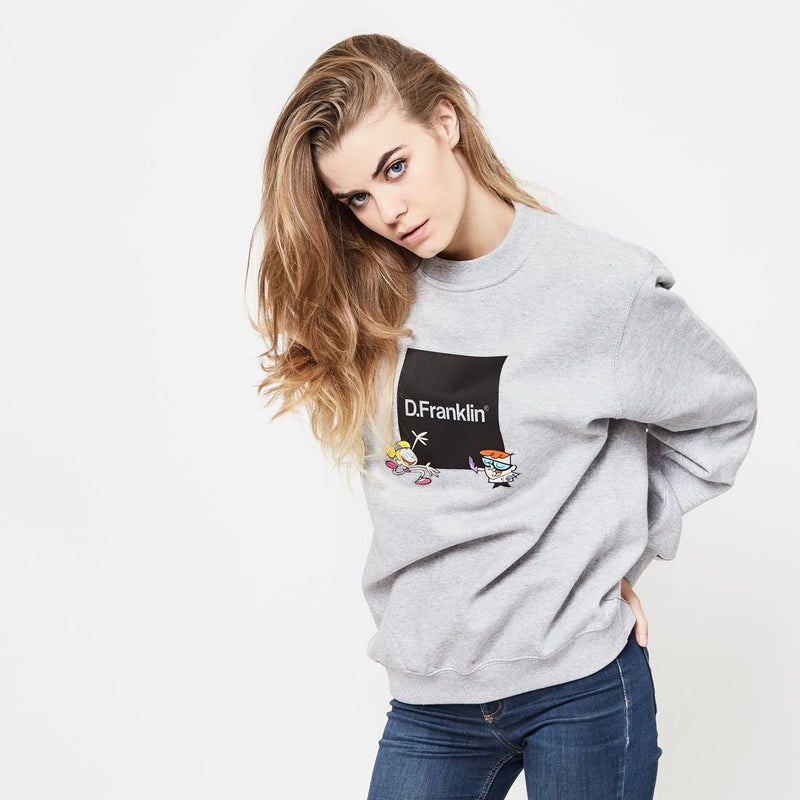 Sweatshirt Dexter Lab Grey