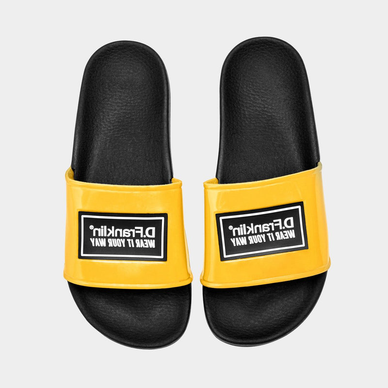 Label Slides Yellow