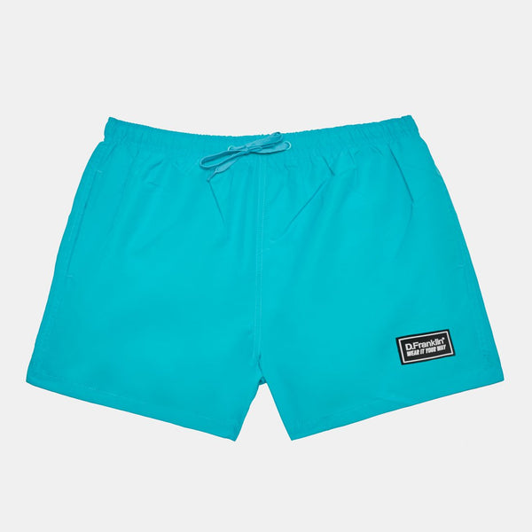Blue Swim Short