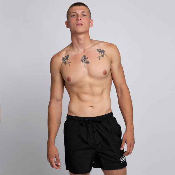 Black Swim Short