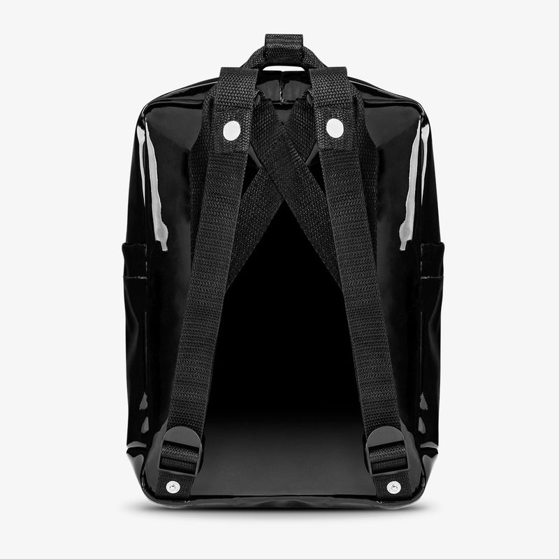 Abby Backpack Patent Black