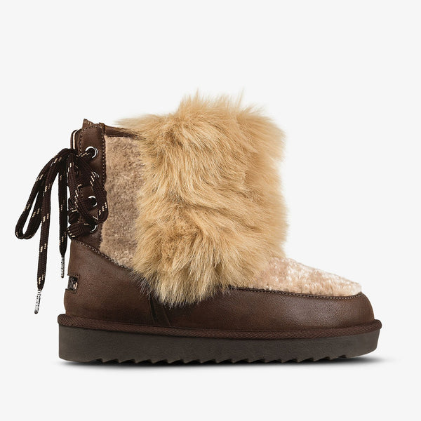 Nordic Bi-Fur Back Brown