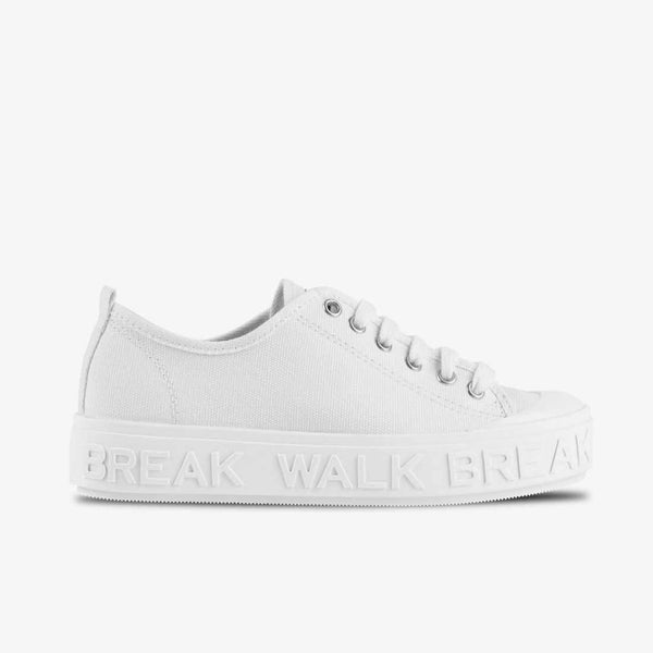 Sneaker Wicker White