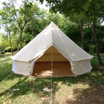 100% Cotton Canvas Bell Tent Waterproof Four-season