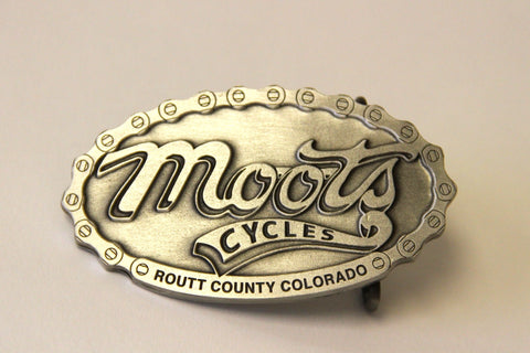 MOOTS BELT BUCKLE
