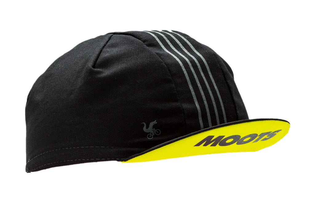 MOOTS STRIPES COTTON CYCLING CAP