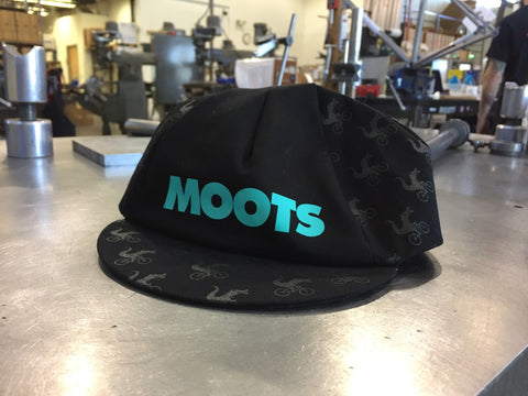 Wheelie Teal Riding Cap