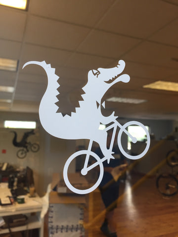 Gator Window Decal