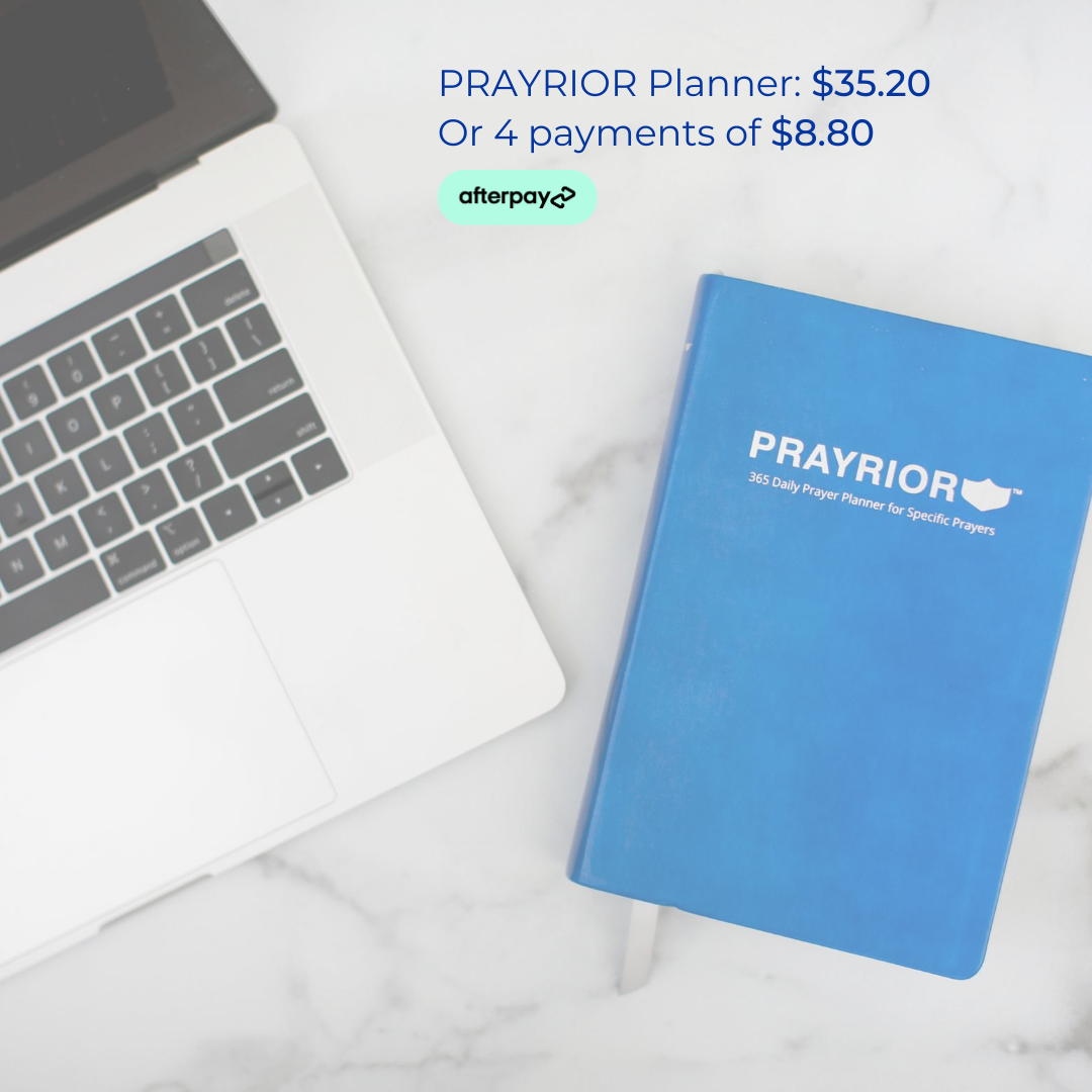 Buy Prayrior Planner with Afterpay