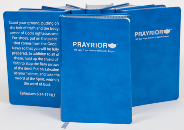 Prayrior 365 Daily Prayer Planner