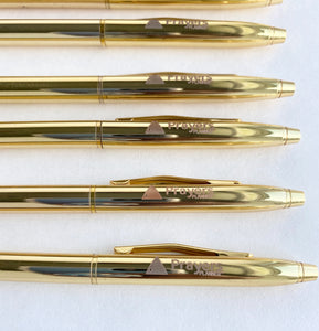 Gold Engraved Pen