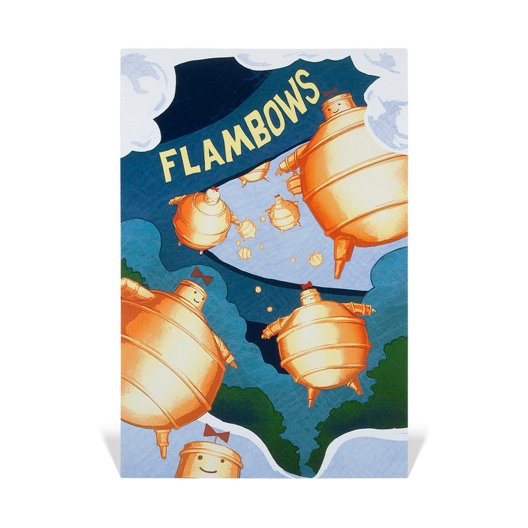 Postcard - Flambows