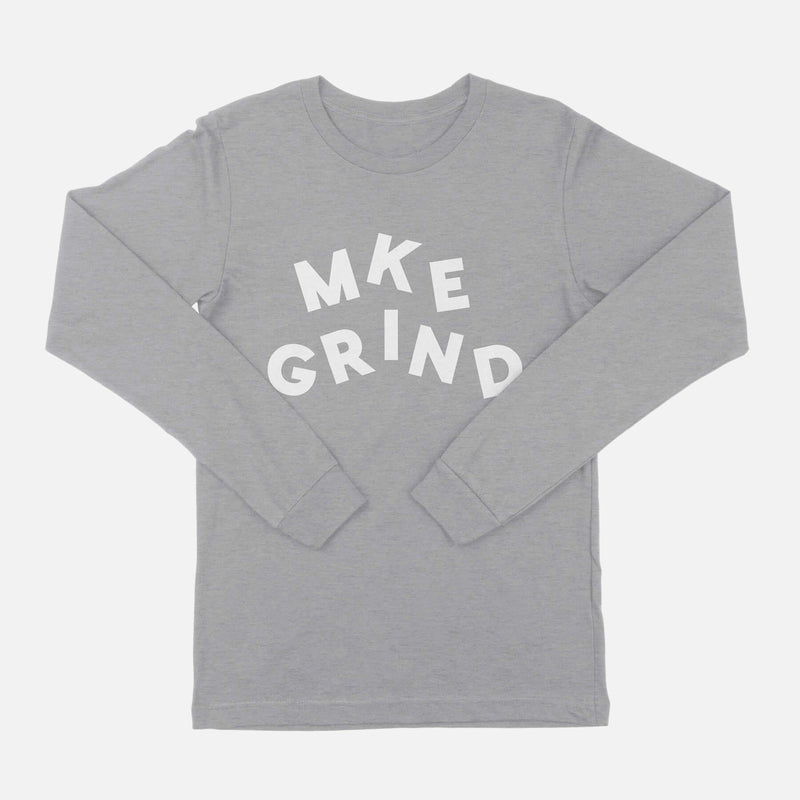 MG Juggle Logo Athletic Heather L/S Tee