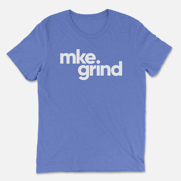 MG Blue Triblend Tee