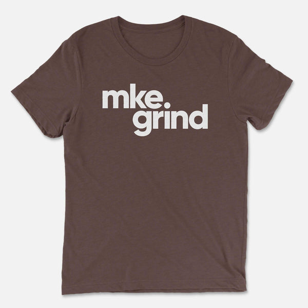 MG Brown Triblend Tee