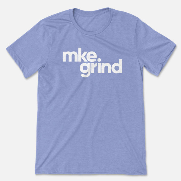 MG Heather Blue Tee