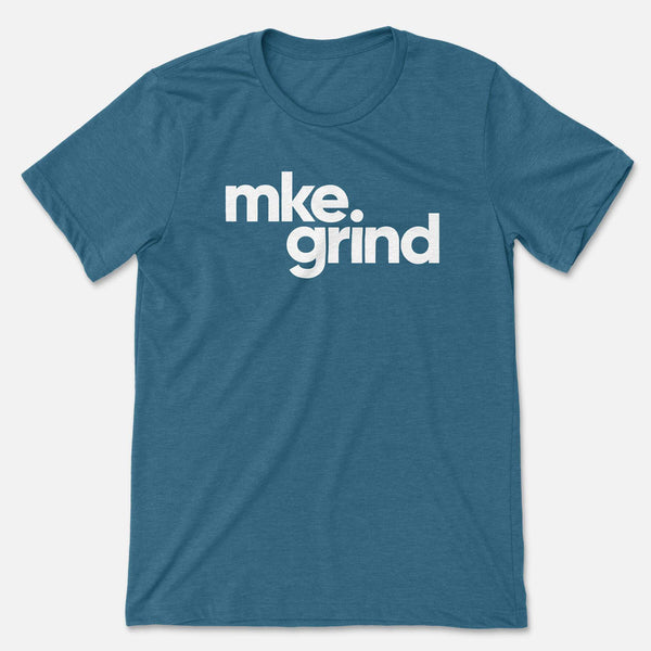 MG Heather Deep Teal Tee