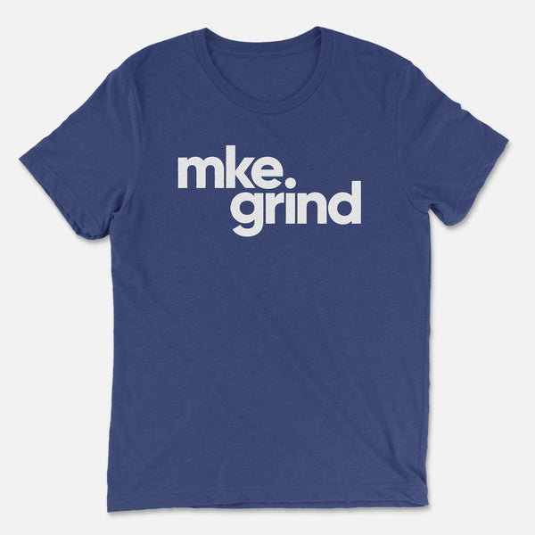 MG Navy Triblend Tee