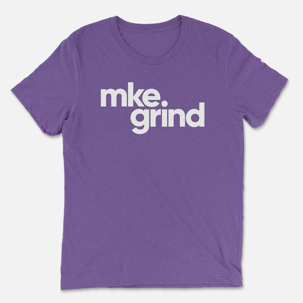 MG Purple Triblend Tee