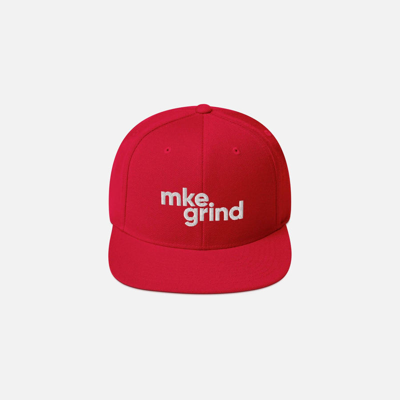 MG Red Snapback