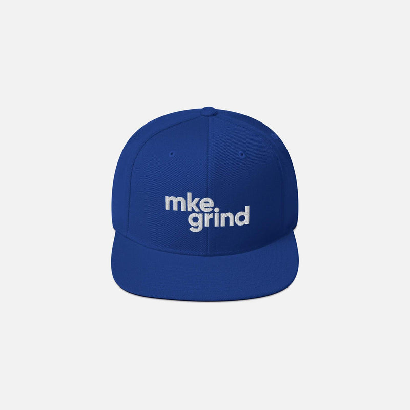 MG Royal Blue Snapback